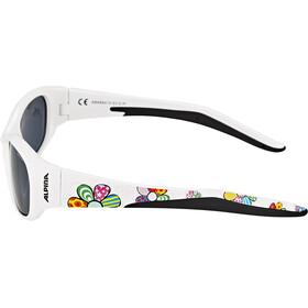 Alpina Flexxy Kids Brille Børn, white flower